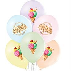 Воздушные шары с цветной печатью