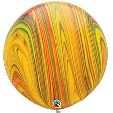 большие воздушные шары в виде агата