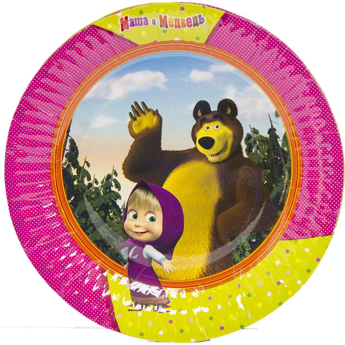 купить набор посуды Маша и Медведь