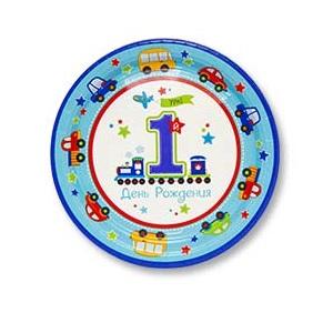 купить пластиковые тарелки с рисунком