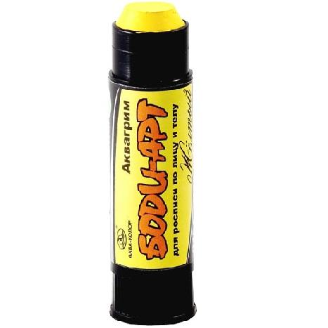 купить карандаш аквагрим желтый