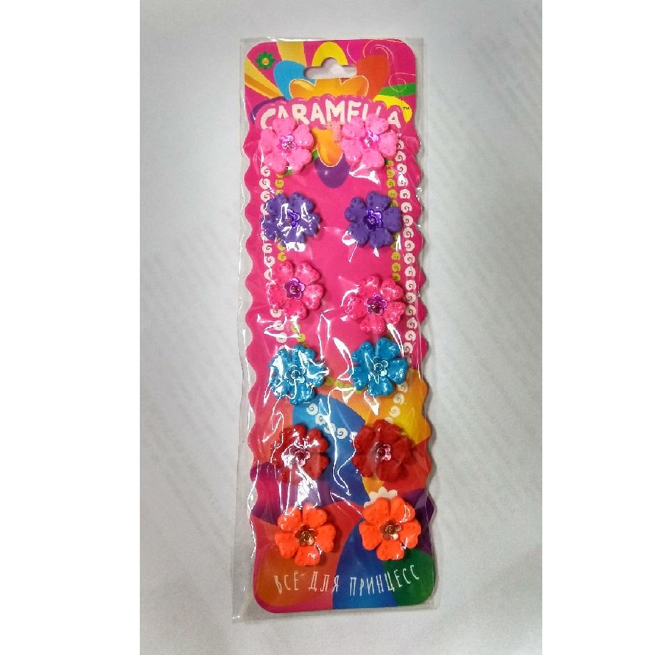 набор резинок для волос с цветами купить Севастополь