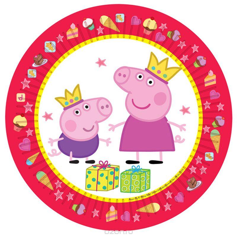 купить посуду с изображением свинки Пеппы