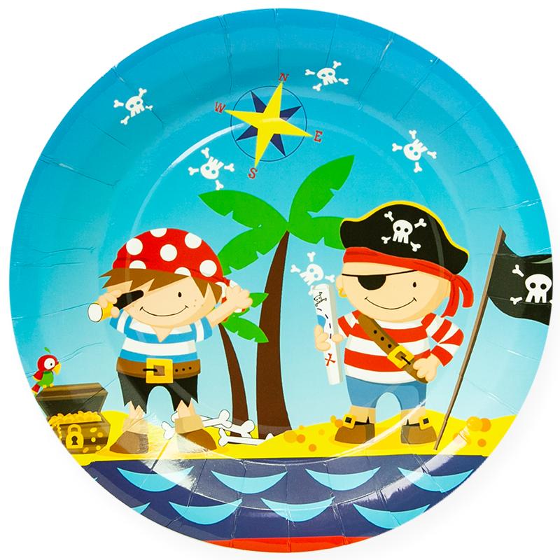 купить тарелки с изображением пиратов