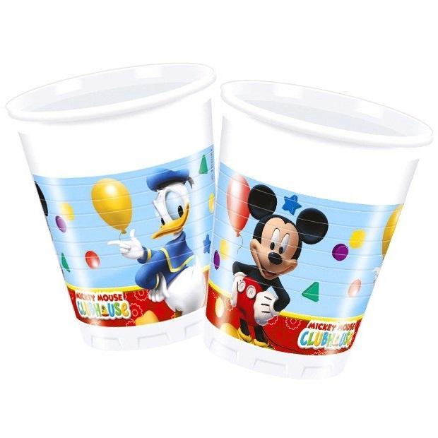 купить пластиковые стаканчики Микки маус
