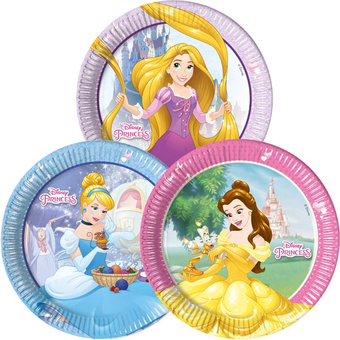 купить тарелки принцессы