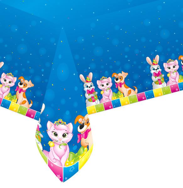 купить скатерть для детского праздника