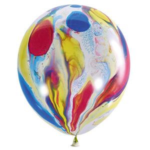 купить многоцветные шары с рисунком Казахстан