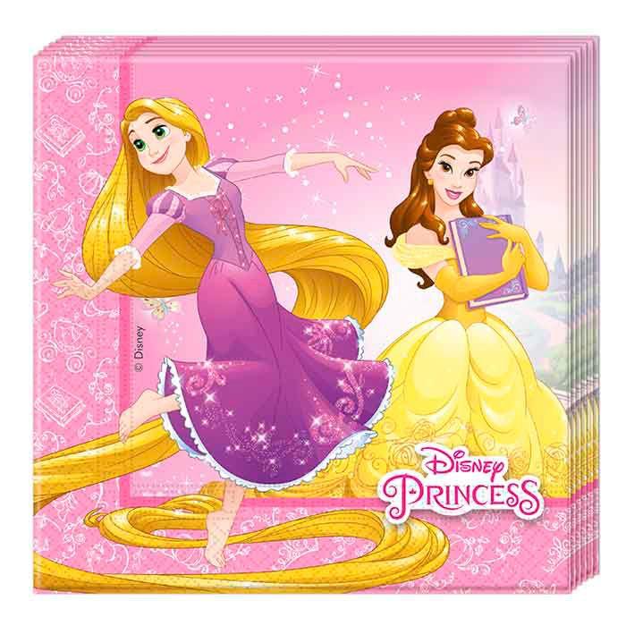 купить салфетки принцессы