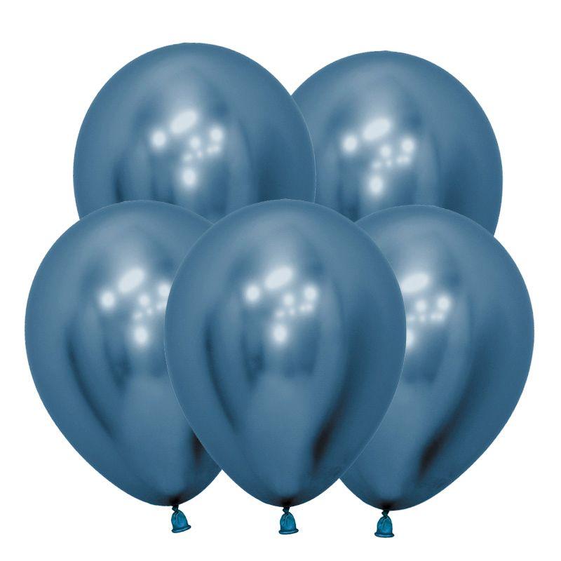 шарики для декора хром