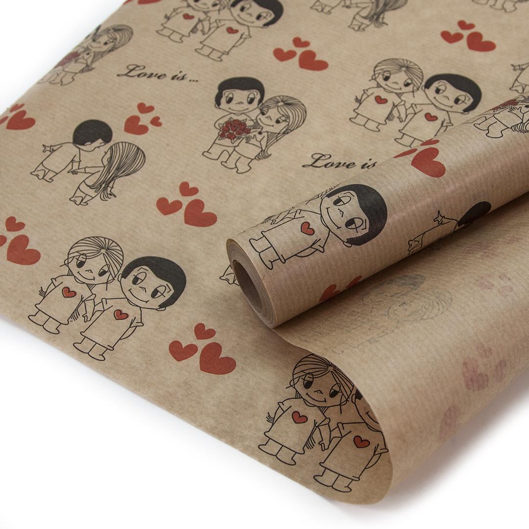 бумага для упаковки подарков купить Симферополь