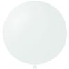 Латексные круглые шары без рисунка 24 дюйма
