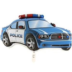 Воздушные шары в виде Полицейской машины