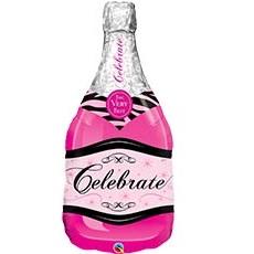 воздушный шар в виде бутылки шампанского