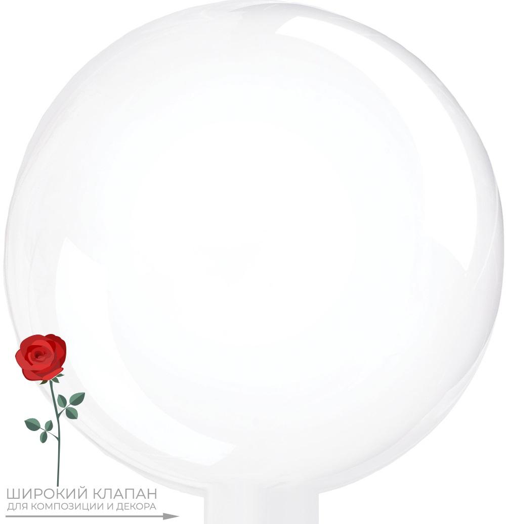 Bubble для композиции с цветком
