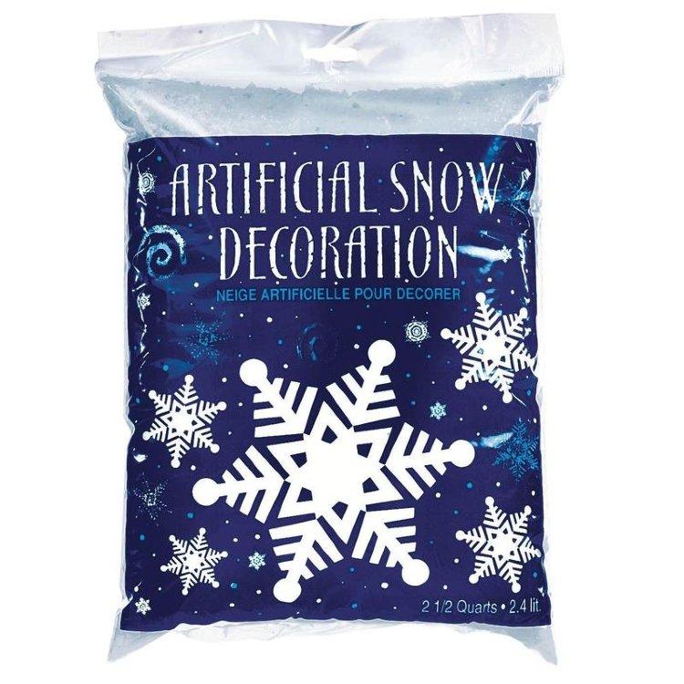 купить снег в упаковке