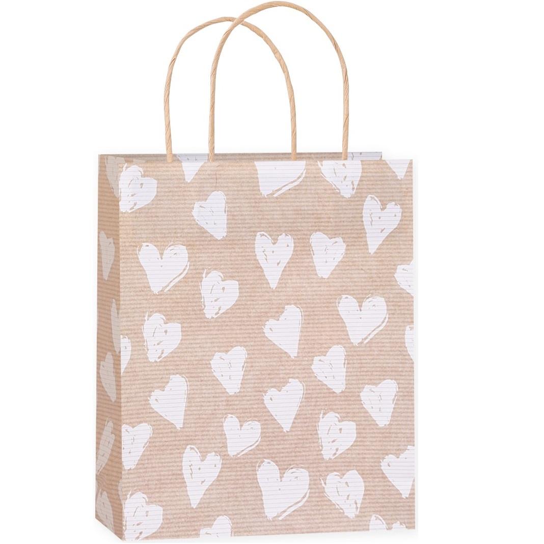 подарочные пакеты с сердечками купить